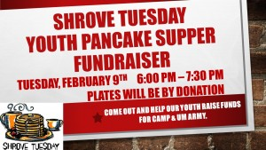 Youth Pancake Fundraiser