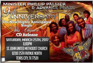 Advance Praze's 9th Anniversary Concert @ St. John's UMC | Texas City | Texas | United States
