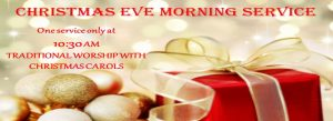 Christmas Eve Morning Service @ St. John's UMC | Texas City | Texas | United States