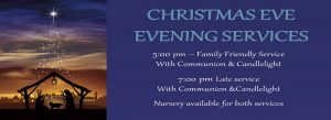 Christmas Eve Late Service 7:00 pm @ St. John's UMC | Texas City | Texas | United States